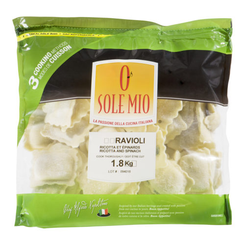 RAVIOLI JUMBO  Ricotta & Spinach