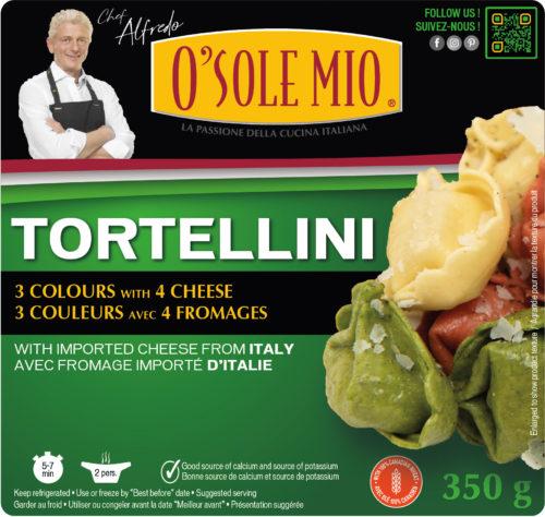 TORTELLINI 3 COLOURS CHEESE