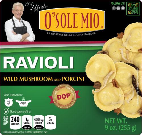 RAVIOLI WILD MUSHROOM
