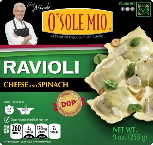 RAVIOLI CHEESE & SPINACH