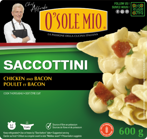 SACCOTTINI CHICKEN AND BACON