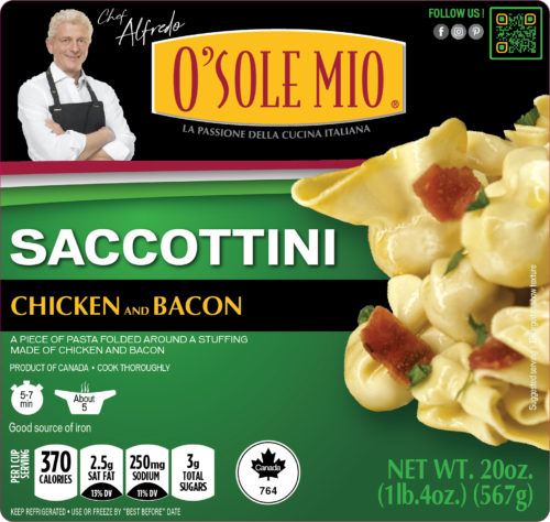 SACCOTTINI CHICKEN & BACON