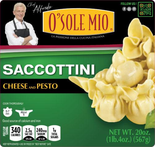 SACCOTTINI CHEESE & PESTO